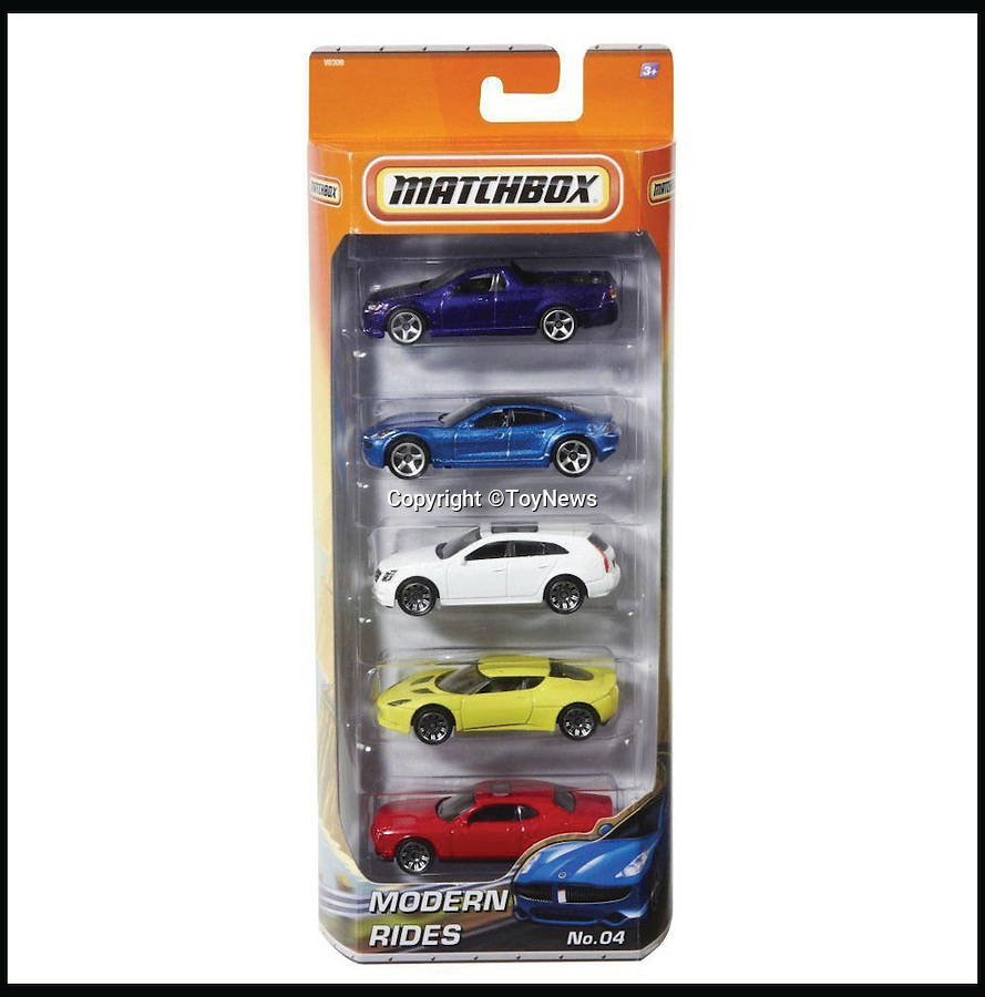 BNPS.co.uk (01202 558833)<br /> Pic: ToyNews/BNPS<br /> <br /> ***Please Use Full Byline***<br /> <br /> Matchbox Cars: Number 8. <br /> <br /> A unique survey has revealed the top 50 greatest toys of all time according to the bosses of Britain's biggest toy companies. <br /> <br /> For the first time, toy experts from across the country have come together to cast their votes on the toys they think have shaped the industry over the last 50 years.<br /> <br /> Executives from 100 toy companies took part in the survey, carried out by industry bible ToyNews for a bumper edition launched at the London Toy Fair.