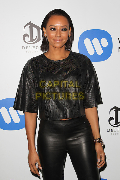 08 February 2015 - West Hollywood, Melanie Brown. Warner Music Group Annual GRAMMY Celebration Held at Chateau Marmont. <br /> CAP/ADM/FS<br /> &copy;FS/ADM/Capital Pictures