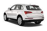 Rear three quarter view of a 2009 - 2012 Audi Q5 Ambiente 5 Door Suv 4WD