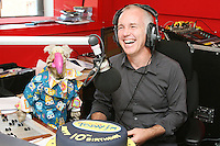 3/9/2010. 10 years of the Ray D'Arcy Show.  Dustin is pictured with Ray D'Arcy in the Today FM Studios, live on the Ray D'Arcy Show where the show is celebrating 10 years to the day of broadcasting on Today FM. Picture James Horan/Collins Photos