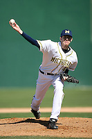 February 20, 2009:  Pitcher Chris Fetter (41) of the University of Michigan during the Big East-Big Ten Challenge at Jack Russell Stadium in Clearwater, FL.  Photo by:  Mike Janes/Four Seam Images