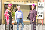 ANNIVERSARY: Daniel Leane of Annbury Boutique marked 10th year in nopening by putting on a fashion show on Saturday. Models Charlotte Highgins and Ann Collins..
