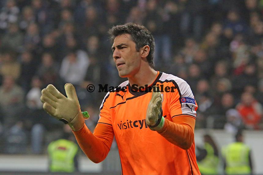 Dionisios Chiotis (Nikosia) - Eintracht Frankfurt vs. APOEL Nikosia, Commerzbank Arena, Europa League Gruppenphase