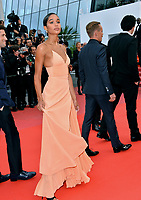 Laura Harrier at the gala screening for &quot;BLACKKKLANSMAN&quot; at the 71st Festival de Cannes, Cannes, France 14 May 2018<br /> Picture: Paul Smith/Featureflash/SilverHub 0208 004 5359 sales@silverhubmedia.com