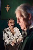 Twilight of the Gods, stills from the film set. With Jud Charlton as Friedrich Nietzsche and Richard Franklin as Richard Wagner. Directed by Julian Doyle. Photo: Bettina Strenske