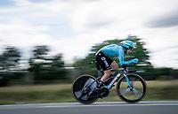 Gorka Izagirre (ESP/Astana)<br /> <br /> Stage 4 (ITT): Roanne to Roanne (26.1km)<br /> 71st Critérium du Dauphiné 2019 (2.UWT)<br /> <br /> ©kramon