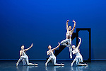 "English National Ballet. ""Ballet Russes"" season at Sadlers Wells Theatre. ""Apollo""."