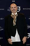 "Miguel Bose attends to  ""TELVA Tributo. Una cronica de moda. Coleccion Naty Abascal"" at Royal Academy of Fine Arts of San Fernando in Madrid, Spain. October 09, 2018. (ALTERPHOTOS/A. Perez Meca)"