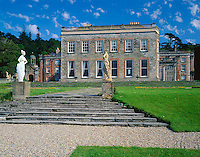 County Cork, Ireland: The North facade of Bantry House dates from 1765 located in the town of Bantry overlooking Bantry Bay and the Beara Peninsula