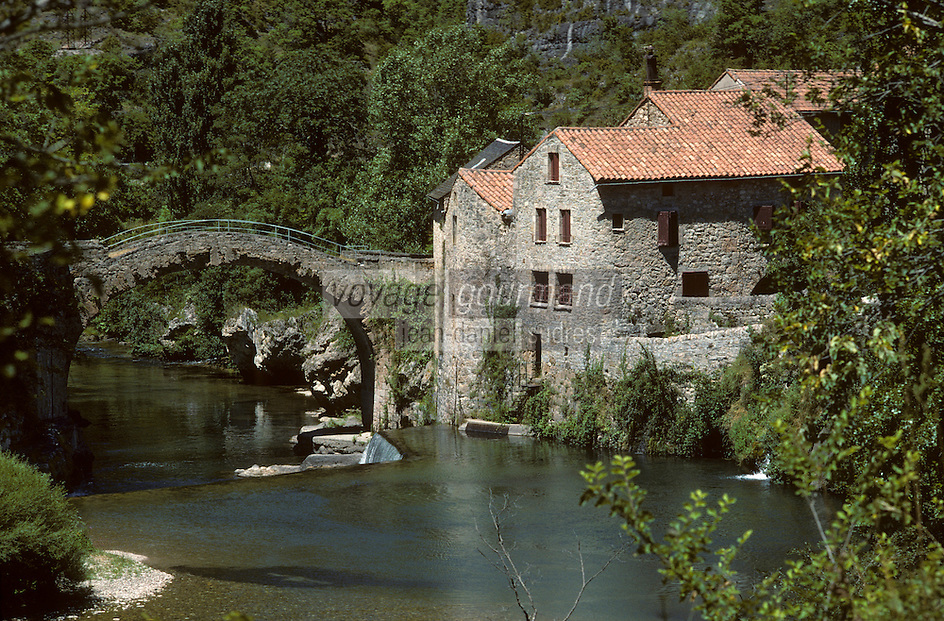 Europe/France/Languedoc-Roussilon/48/Lozère : Les gorges de la Jonte