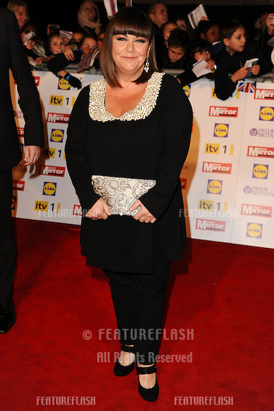 Dawn French arriving for the 2012 Pride of Britain Awards, at the Grosvenor House Hotel, London. 29/10/2012 Picture by: Steve Vas / Featureflash