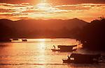 Kuching, Sarawak, Borneo, Malaysia, water taxis, Sungai Sarawak, Sarawak River, Southeast Asia,