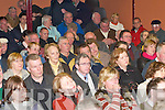 CONCERNS: Some of the attendance at the Castleisland By-pass public meeting in Castleisland on Wednesday night..