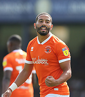 Blackpool's Liam Feeney celebrates<br /> <br /> Photographer Rob Newell/CameraSport<br /> <br /> The EFL Sky Bet Championship - Southend United v Blackpool - Saturday 10th August 2019 - Roots Hall - Southend<br /> <br /> World Copyright © 2019 CameraSport. All rights reserved. 43 Linden Ave. Countesthorpe. Leicester. England. LE8 5PG - Tel: +44 (0) 116 277 4147 - admin@camerasport.com - www.camerasport.com