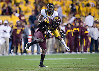 Steve Williams of California in action during a game against Arizona State at Sun Devil Stadium in Tempe, California on November 25th, 2011  - California defeated Arizona State  47 - 38