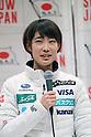 Kaori Iwabuchi (JPN),<br /> JANUARY 11, 2018 - Ski Jumping : PyeongChang 2018 during informal designation players press conference of ski jumping Women's Japanese players at Sapporo, Hokkaido, Japan.<br /> (Photo by Jun Tsukida/AFLO)