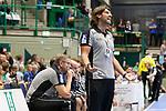 BHCs Sebastian Hinze (Trainer)  im Spiel der Handballliga, Bergischer HC - SC DHFK Leipzig.<br /> <br /> Foto &copy; PIX-Sportfotos *** Foto ist honorarpflichtig! *** Auf Anfrage in hoeherer Qualitaet/Aufloesung. Belegexemplar erbeten. Veroeffentlichung ausschliesslich fuer journalistisch-publizistische Zwecke. For editorial use only.