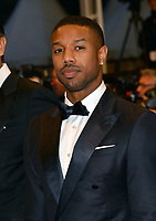 Michael B. Jordan at the gala screening for &quot;Farenheit 451&quot; at the 71st Festival de Cannes, Cannes, France 12 May 2018<br /> Picture: Paul Smith/Featureflash/SilverHub 0208 004 5359 sales@silverhubmedia.com