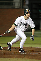 February 20, 2010:  Infielder Aaron Crittenden (39) of the Stetson Hatters during the teams opening series at Melching Field at Conrad Park in DeLand, FL.  Photo By Mike Janes/Four Seam Images
