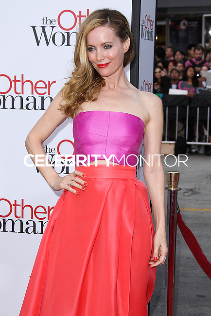 "WESTWOOD, LOS ANGELES, CA, USA - APRIL 21: Actress Leslie Mann arrives at the Los Angeles Premiere Of Twentieth Century Fox's ""The Other Woman"" held at the Regency Village Theatre on April 21, 2014 in Westwood, Los Angeles, California, United States. (Photo by Xavier Collin/Celebrity Monitor)"