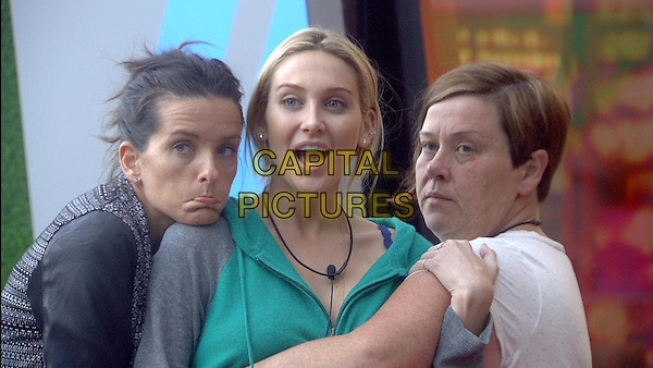 Edele Lynch, Stephanie Pratt, Deirdre Kelly <br /> in Celebrity Big Brother - Summer 2014 (Day 11)<br /> *Editorial Use Only*<br /> CAP/NFS<br /> Image supplied by Capital Pictures