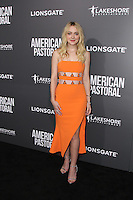 BEVERLY HILLS, CA - OCTOBER 13: Dakota Fanning attends the Special Screening Of Lionsgate's 'American Pastoral' on October 13, 2016 in Beverly Hills, California. (Credit: MPA/MediaPunch).