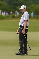 Martin Piller (USA) watches his putt on 3 during round 3 of the AT&T Byron Nelson, Trinity Forest Golf Club, at Dallas, Texas, USA. 5/19/2018.<br /> Picture: Golffile | Ken Murray<br /> <br /> <br /> All photo usage must carry mandatory copyright credit (© Golffile | Ken Murray)