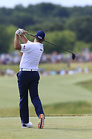 Lee Westwood (ENG) tees off the 7th tee during Friday's Round 2 of the 117th U.S. Open Championship 2017 held at Erin Hills, Erin, Wisconsin, USA. 16th June 2017.<br /> Picture: Eoin Clarke | Golffile<br /> <br /> <br /> All photos usage must carry mandatory copyright credit (&copy; Golffile | Eoin Clarke)