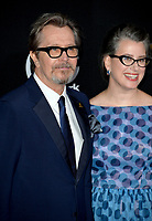 Gary Oldman &amp; Gisele Schmidt at the 21st Annual Hollywood Film Awards at The Beverly Hilton Hotel, Beverly Hills. USA 05 Nov. 2017<br /> Picture: Paul Smith/Featureflash/SilverHub 0208 004 5359 sales@silverhubmedia.com