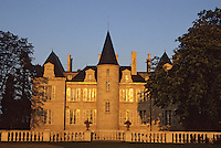 Europe/France/Aquitaine/33/Gironde/Pauillac : château Pichon Longueville Comtesse de Lalande (AOC Pauillac) [Non destiné à un usage publicitaire - Not intended for an advertising use]