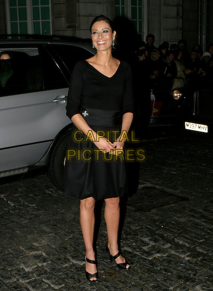 MELANIE SYKES.A Gala Screening of George Michael: A Different Story at Curzon Mayfair Cinema,, London, UK..December 5th, 2005.Ref: AH.full length black dress peep toe shoes.www.capitalpictures.com.sales@capitalpictures.com.© Capital Pictures.