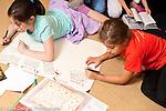 Education Elementary School Grade 3 children in classroom
