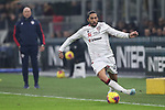 Lucas Castro of Cagliari during the Coppa Italia match at Giuseppe Meazza, Milan. Picture date: 14th January 2020. Picture credit should read: Jonathan Moscrop/Sportimage