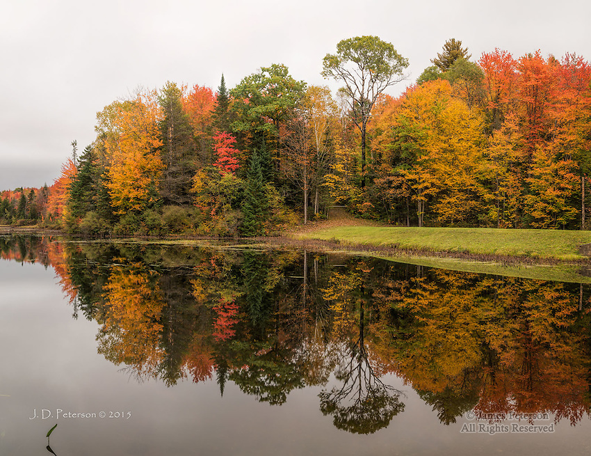 Pond on Grove Brook, New Hampshire