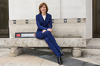 Fiona Bruce receives the Freedom of the City of London