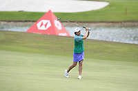 Candie Kung (USA) in action on the 16th during Round 1 of the HSBC Womens Champions 2018 at Sentosa Golf Club on the Thursday 1st March 2018.<br /> Picture:  Thos Caffrey / www.golffile.ie<br /> <br /> All photo usage must carry mandatory copyright credit (&copy; Golffile | Thos Caffrey)