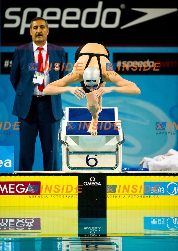 POPOVA Veronika RUS.Women's 100m Freestyle  Semifinal.FINA World Short Course Swimming Championships.Istanbul Turkey 12 - 16 Dec. 2012.Day 02.Photo G.Scala/Deepbluemedia/Inside