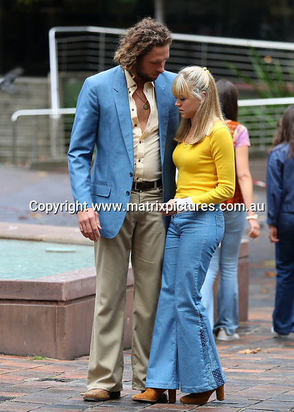 3 MAY 2017 SYDNEY AUSTRALIA<br /> WWW.MATRIXPICTURES.COM.AU<br /> <br /> EXCLUSIVE PICTURES<br /> <br /> Sophia Forrest (daughter of mining magnate Andrew 'Twiggy' Forrest) pictured on set of Love Child filming at Kings Cross. <br />  <br /> Note: All editorial images subject to the following: For editorial use only. Additional clearance required for commercial, wireless, internet or promotional use.Images may not be altered or modified. Matrix makes no representations or warranties regarding names, trademarks or logos appearing in the images.