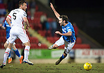St Johnstone v Inverness Caley Thistle&hellip;09.03.16  SPFL McDiarmid Park, Perth<br />Gary Warren brings down Simon Lappin and is booked<br />Picture by Graeme Hart.<br />Copyright Perthshire Picture Agency<br />Tel: 01738 623350  Mobile: 07990 594431