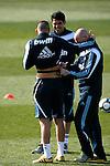 Madrid (11/03/10).-Entrenamiento del Real Madrid..Karim Benzema y Kaka...© Alex Cid-Fuentes/ ALFAQUI..Madrid (11/03/10).-Training session of Real Madrid c.f..Karim Benzema y Kaka...© Alex Cid-Fuentes/ ALFAQUI.