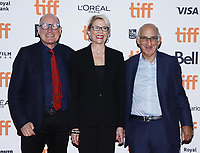 """TORONTO, ONTARIO - SEPTEMBER 06: Bill Nicholson, Annette Bening and David Thompson attend the """"Hope Gap"""" premiere during the 2019 Toronto International Film Festival at Princess of Wales Theatre on September 06, 2019 in Toronto, Canada.<br /> CAP/MPI/IS<br /> ©IS/MPI/Capital Pictures"""
