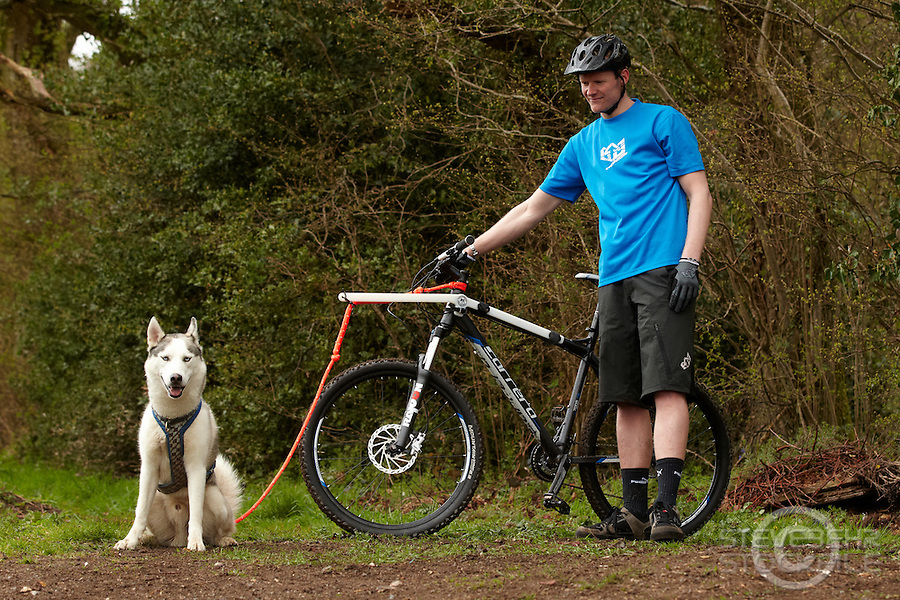 Bikejor , Mildenhall , Marlborough ,  Wiltshire , April   2012 pic copyright Steve Behr / Stockfile
