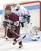 Tyler Burton, Matt Modelski - Colgate University defeated Yale University 6-2 at Ingalls Rink in New Haven, CT on November 5, 2005.