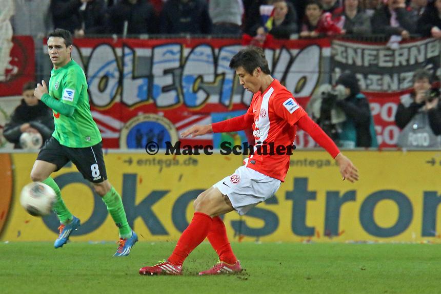 Ja-Cheol Koo (Mainz)- 1. FSV Mainz 05 vs. Hannover 96, Coface Arena, 21. Spieltag