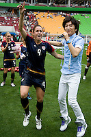 Super Junior, Heather O'Reilly. The USWNT defeated Canada, 1-0, at Suwon World Cup Stadium in Suwon, South Korea, to win the Peace Queen Cup.
