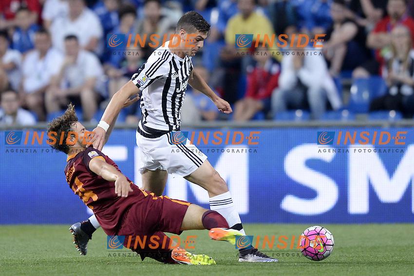 Reggio Emilia 04-06-2016 - finale Campionato Primavera / Roma-Juventus / foto Daniele Buffa/Image Sport/Insidefoto<br /> nella foto: Andrea Favilli-Eros De Santis