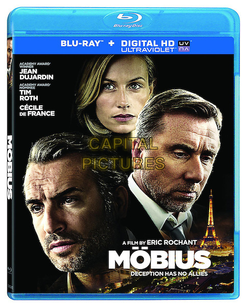 AMERICAN BLU RAY COVER ART<br /> in Mobius (2013) <br /> *Filmstill - Editorial Use Only*<br /> CAP/FB<br /> Image supplied by Capital Pictures