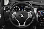 Car pictures of steering wheel view of a 2018 Renault Alaskan Foraker 4 Door Pick Up