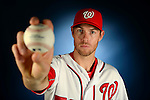VIERA, FL-  FEBRUARY 23:  Pitcher Doug Fister poses for a portrait during the Washington Nationals Spring Training at Space Coast Stadium in Viera, FL (Photo by Donald Miralle) *** Local Caption ***
