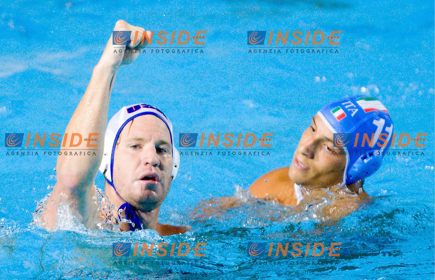 Roma 20th July 2009 - 13th Fina World Championships From 17th to 2nd August 2009..Water Polo..Italy - USA Aicardi Matteo..photo: Roma2009.com/InsideFoto/SeaSee.com